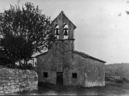 Crkva sv. Jakova 1950. godine, Bačva. (bn. 93) Iz arhive Arheološkog muzeja Istre