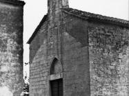 Gotička crkva Majke Božje od Karmela 1978. godine, Bačva. (fn. 16196) Iz arhive Arheološkog muzeja Istre