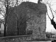 Srednjovjekovna kula početkom 60-ih godina, Barban. (bn. 6834) Iz arhive Arheološkog muzeja Istre