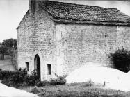 Crkva sv. Margarete u Prnjanima 1975. godine, Barban. (fn. 13746 c) Iz arhive Arheološkog muzeja Istre