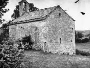 Crkva sv. Margarete u Prnjanima 1975. godine, Barban. (fn. 13748) Iz arhive Arheološkog muzeja Istre