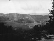 Pogled na Beram sa sjeverozapada 1990. godine, Beram. (fn. 24709) Iz arhive Arheološkog muzeja Istre