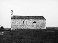 Crkva sv. Martina sredinom 80-ih godina, Bičići. (fn. 20241) Iz arhive Arheološkog muzeja Istre