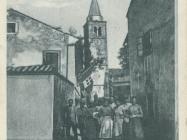 Boljun 1927. godine. Boljun. Iz arhiva Zavičajnog muzeja u Buzetu