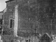 Desna fasada crkve Svete Marije u Božjem polju 1952. godine, Božje polje. (fn. 2306) Iz arhive Arheološkog muzeja Istre