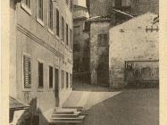 Ulice Buzeta 20-ih godina XX st., Buzet. Iz arhive Zavičajnog muzeja Buzeta.