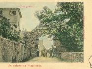 Gradska vrata početkom XX. st., Buzet. Iz arhive Zavičajnog muzeja Buzeta