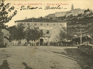 Hotel Albergo alla Fonata krajem 20-ih godina, Buzet. Iz arhive Zavičajnog muzeja u Buzetu
