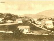 Kuće u Buzetu 1932. godine, Buzet. Iz arhive Zavičajnog muzeja u Buzetu