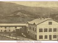 Narodni dom u Buzetu 1913. godine, Buzet. Iz arhive Zavičajnog muzeja u Buzetu