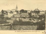 Pogled na Buzet 1920. godine, Buzet. Iz arhive Zavičajnog muzeja u Buzetu