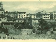 Pogled na Buzet 1930. godine, Buzet. Iz arhive Zavičajnog muzeja u Buzetu