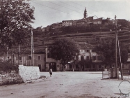 Pogled na Buzet 1962. godine, Buzet. Iz arhive Zavičajnog muzeja u Buzetu