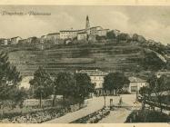 Pogled na Buzet 20-ih godina, Buzet. Iz arhive Zavičajnog muzeja u Buzetu