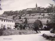 Pogled na Buzet 50-ih godina, Buzet. Iz arhive Zavičajnog muzeja u Buzetu