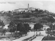 Pogled na Buzet početkom XX. stoljeća, Buzet. Iz arhive Zavičajnog muzeja u Buzetu