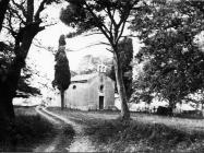 Crkva Svete Ane 1975. godine, Červar. (fn. 13586) Iz arhive Arheološkog muzeja Istre