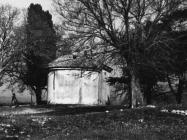 Crkva Svete Ane početkom 60-ih godina, Červar. (bn. 6287-1b) Iz arhive Arheološkog muzeja Istre