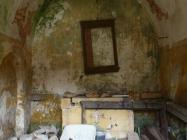 Unutrašnjost. Crkva Svetog Mihovila/arheološko nalazište Banjole. Autor: Aldo Šuran (2010.)