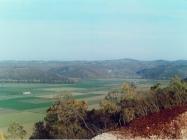 Dolina Mirne i sjeverni rub s rtom Parsut gledano s trase Istarskog Y 2003. godine, dolina rijeke Mirne Iz arhive Arheološkog muzeja Istre