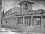 Crkva Blažene Djevice Marije od Karmela sredinom 50-ih godina, Fažana. (bn. 3234). Iz arhive Arheološkog muzeja Istre