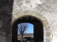 Gradska vrata i lođa s unutrašnje stane, Gračišće. Autor: Željko Cetina (2013.)