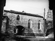 Gotička kapela 1973. godine, Gračišće. (fn. 12037) Iz arhive Arheološkog muzeja Istre
