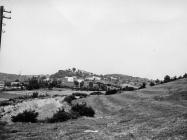 Pogled na Gračišće sa sjevera 1975. godine, Gračišće. (fn. 13995) Iz arhive Arheološkog muzeja Istre