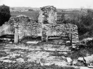 Apside crkve sv. Šimuna u Guranu krajem 50-ih godina, Guran. (bn. 5854) Iz arhive Arheološkog muzeja Istre