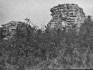 Ruševine crkve sv. Šimuna u Guranu krajem 40-ih godina, Guran. (fp. 541) Iz arhive Arheološkog muzeja Istre
