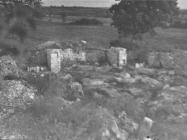 Ruševine ranosrednjovjekovne bazilike u Guranu krajem 40-ih godina, Guran. (fp. 545) Iz arhive Arheološkog muzeja Istre