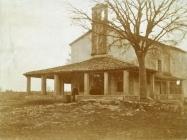 Crkva sv. Marije od zdravlja 1919. godine, Hreljići. Iz arhive Arheološkog muzeja Istre