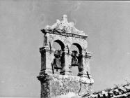 Preslica crkve sv. Marije od tri kunfina u prvoj polovici 60-ih godina, Juršići. (bn. 6490) Iz arhive Arheološkog muzeja Istre