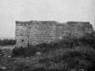 Crkva i samostan sv. Petronile 1955. godine, Kanfanar. (fn. 3315) Iz arhive Arheološkog muzeja Istre