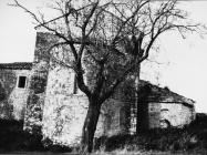 Apsida ckrve sv. Mihovila sredinom 60-ih godina, Sveti Mihovil na Limu. (bn. 7888 c) Iz arhive Arheološkog muzeja Istre