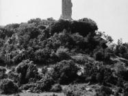 Kula Turan u 11 sati 6. svibnja 1992. godine prije rušenja, Koromačno. (fn. 25951) Iz arhive Arheološkog muzeja Istre