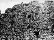 Zidovi razrušene kule Turan 1991. godine, Koromačno. (fn. 24905) Iz arhive Arheološkog muzeja Istre