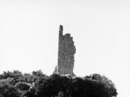 Kula Turan u 11 sati 6. svibnja 1992. godine prije rušenja, Koromačno. (fn. 25950) Iz arhive Arheološkog muzeja Istre