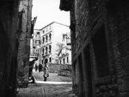 Pogled na muzej 1967. godine, Labin. (bn. 8721) Iz arhive Arheološkog muzeja Istre