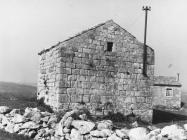 Crkva sv. Nedelje krajem 50-ih godina, Labin. (fn. 5358) Iz arhive Arheološkog muzeja Istre