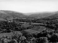 Limska draga snimljena s Dvigrada 1988. godine, Dvigrad. (bn. 23611, foto Klara Buršić) Iz arhive Arheološkog muzeja Istre