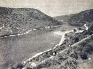 Panorama Limskog kanala početkom 60-ih godina XX. st. (Vitomir Ujčić, Pula, Pula 1963)