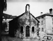 Crkva Svetog Sebastijana 1973. godine, Lindar. (fn. 12032) Iz arhive Arheološkog muzeja Istre