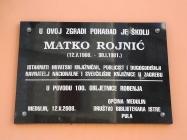 Spomen ploča na zgradi Općine Medulin. Autor: Aldo Šuran (2010.)