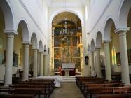 Unutrašnjost crkve Svete Agneze. Medulin. Autor: Aldo Šuran (2010.)