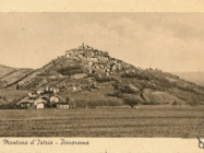 Panorama Motovuna oko 1940., Motovun. Iz arhive Zavičajnog muzeja Buzeta