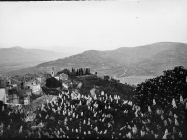Pogled na grad početkom 70-ih godina, Motovun. (bn. 10699) Iz arhive Arheološkog muzeja Istre