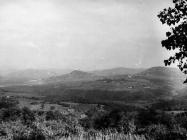 Pogled na Motovunu iz Vižinade krajem 60-ih godina, Motovun. (bn. 8762, bp. 8826) Iz arhive Arheološkog muzeja Istre