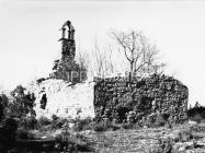 Crkva sv. Jakova kod Cukona 1974. godine, Mutvoran. (fn. 13478 b) Iz arhive Arheološkog muzeja Istre