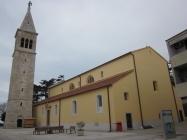 Župna crkva sv. Pelagija i sv. Maksima. Novigrad. Autor: Željko Cetina (2013.)